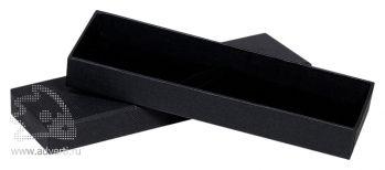 Черный коробка для ручки, черная