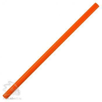 Карандаш шестигранный «Стандарт плюс», оранжевый
