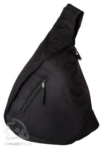 Рюкзак «Brooklyn» на одно плечо, черный
