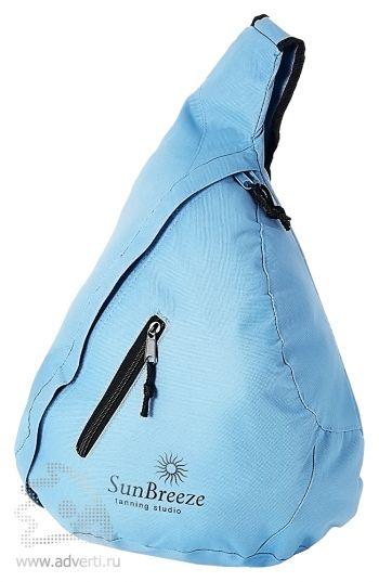 Рюкзак «Brooklyn» на одно плечо, голубой