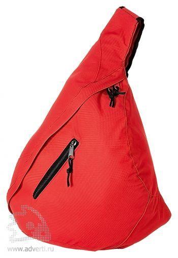 Рюкзак «Brooklyn» на одно плечо, красный