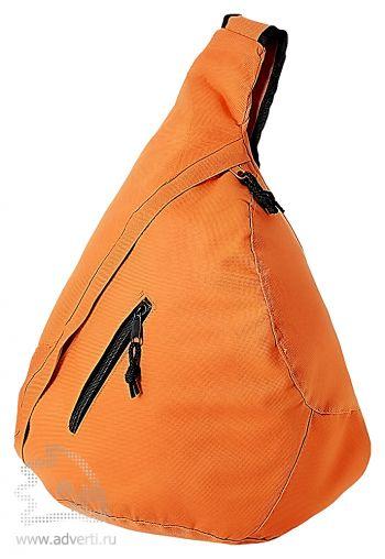Рюкзак «Brooklyn» на одно плечо, оранжевый