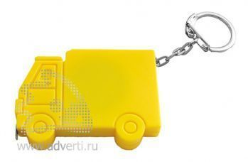 Брелок-рулетка «Машинка», желтый