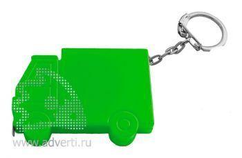 Брелок-рулетка «Машинка», зеленый