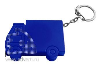 Брелок-рулетка «Машинка», синий