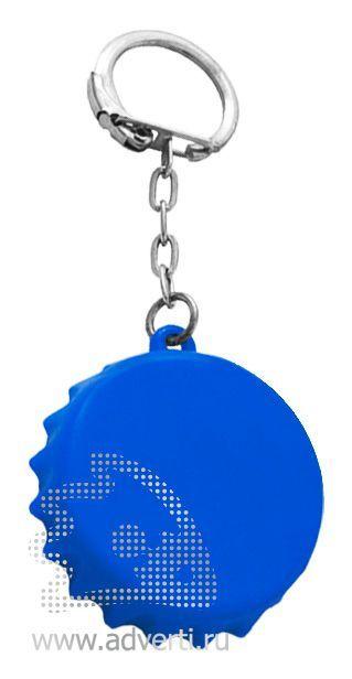 Брелок-рулетка «Пробка», синий