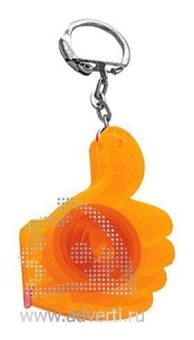 Брелок-рулетка «Yes Frost», оранжевый