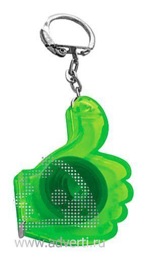 Брелок-рулетка «Yes Frost», зеленый