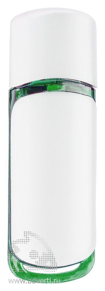 Флеш-память «Vein», зеленая