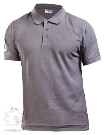 Рубашка поло LEELA, темно-серая