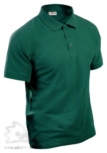Рубашка поло LEELA, темно-зеленая