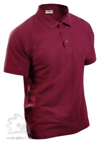 Рубашка поло LEELA, бордовая