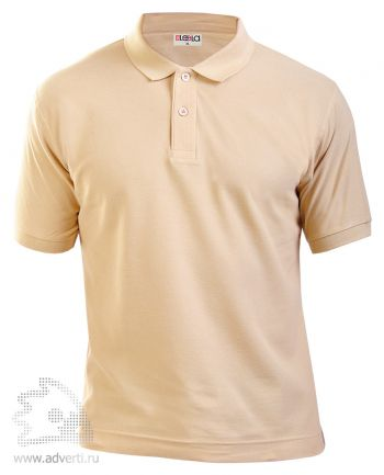 Рубашка поло LEELA, бежевая