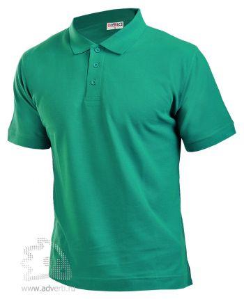 Рубашка поло LEELA, зеленая