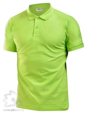 Рубашка поло LEELA, светло-зеленая