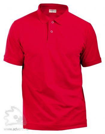 Рубашка поло LEELA, красная