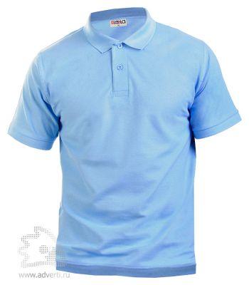 Рубашка поло LEELA, голубая