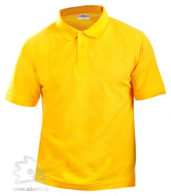 Рубашка поло LEELA, желтая