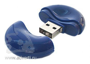 Флеш-карта «Таблетка», синяя