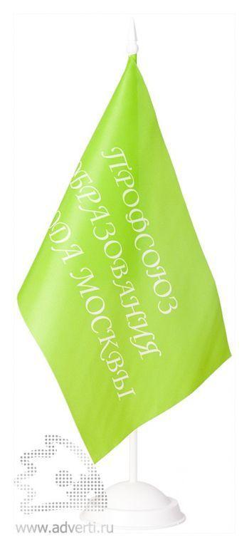 Флажок настольный с 1 пластиковым флагштоком
