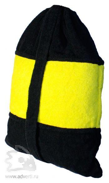 Пляжные сумки-полотенца из махры, пляжный рюкзак