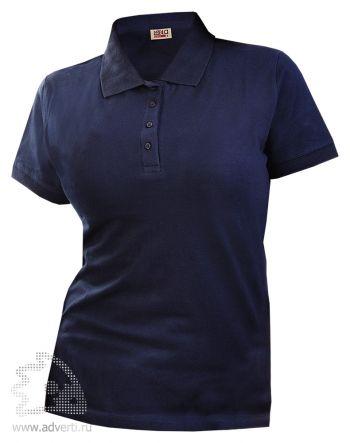 Рубашка поло LEELA «QUEEN» женская, темно-синяя