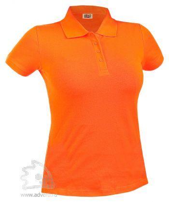 Рубашка поло LEELA «QUEEN» женская, оранжевая