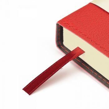 Ежедневники «Porto», красные, ляссе