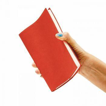 Ежедневники «Porto», красные, гибкая обложка