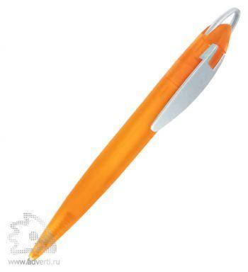 Ручка шариковая «Фокус Фрост», оранжевая