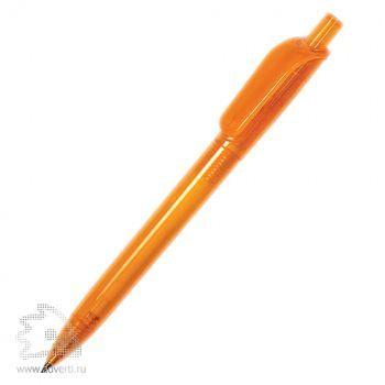 Ручка шариковая «Альфа Транспарент», оранжевая
