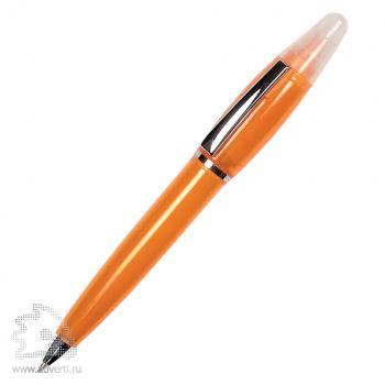 Ручка-маркер, оранжевая