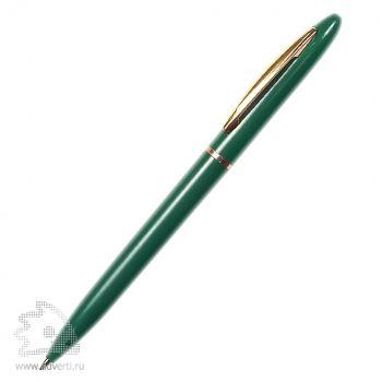 Ручка шариковая «Фаворит Голд», зеленая