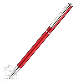 Шариковая ручка «Псков», лакированная Салiасъ, бордовая