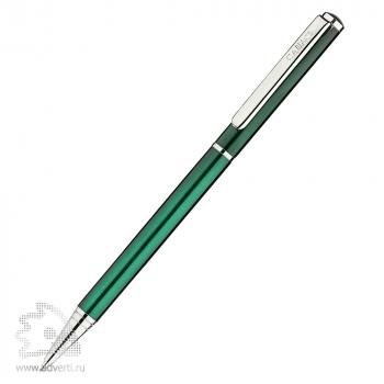 Шариковая ручка «Псков», лакированная Салiасъ, темно-зеленая