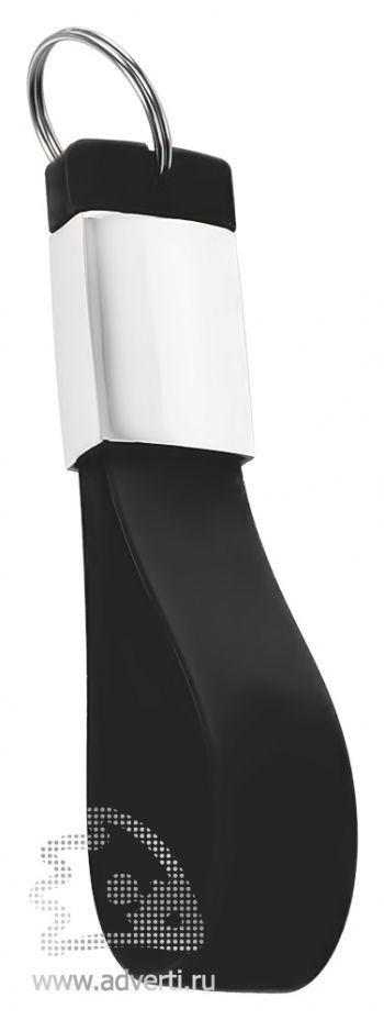 Флешка-брелок «Pulsar», черная