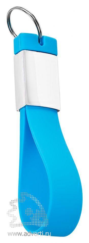 Флешка-брелок «Pulsar», голубая
