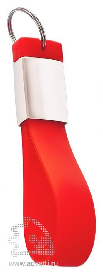 Флешка-брелок «Pulsar», красная