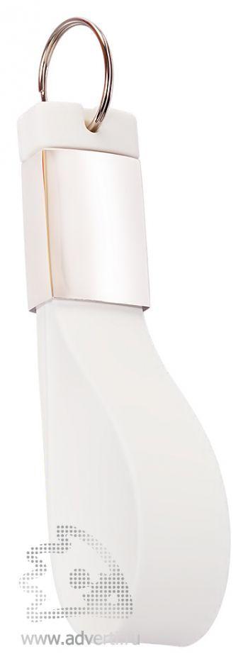 Флешка-брелок «Pulsar», белая