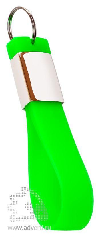 Флешка-брелок «Pulsar», светло-зеленая