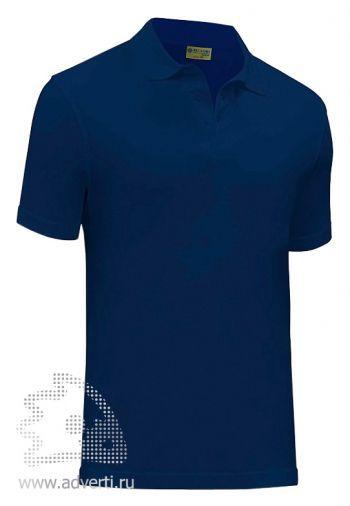 Рубашка поло «Red Fort Canyon», темно-синяя