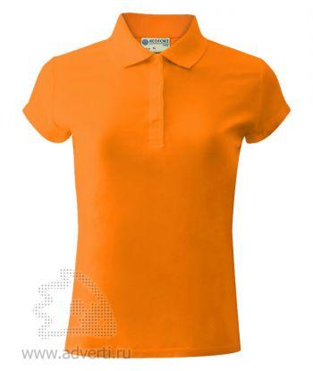 Рубашка поло «Red Fort», женская, оранжевая