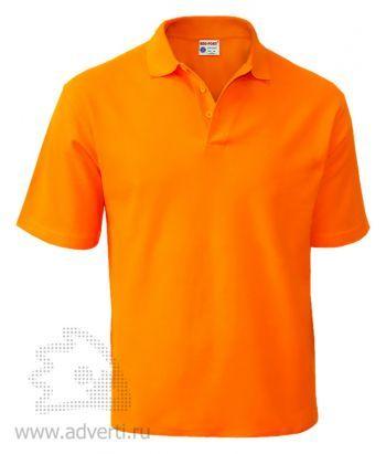 Рубашка поло «Red Fort», мужская, оранжевая