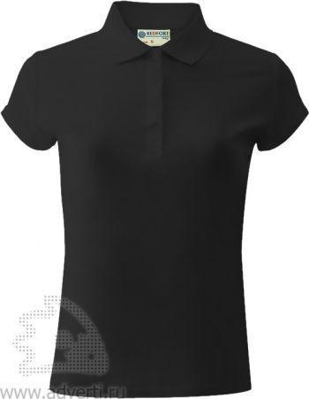 Рубашка поло «Red Fort», женская, черная