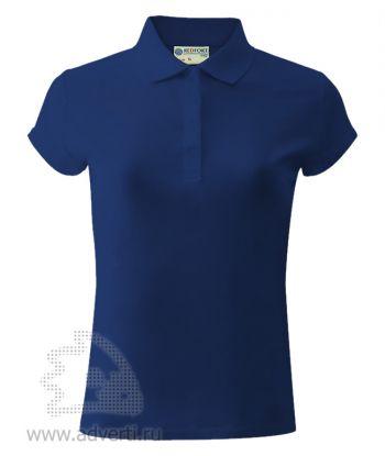 Рубашка поло «Red Fort», женская, синяя
