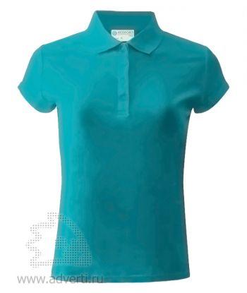 Рубашка поло «Red Fort», женская, голубая