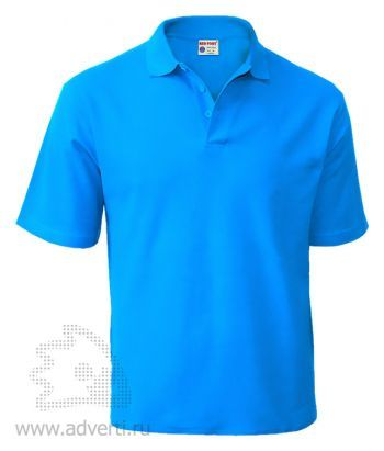 Рубашка поло «Red Fort», мужская, голубая