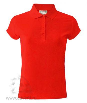 Рубашка поло «Red Fort», женская, красная