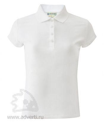 Рубашка поло «Red Fort», женская, белая