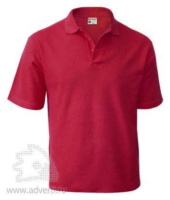 Рубашка поло «Red Fort», мужская, бордовая